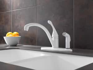 Delta Faucet Collins™ Single Handle Kitchen Faucet D340DST