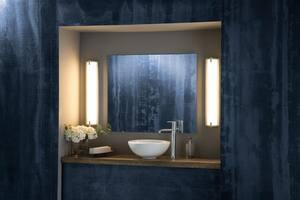 Delta Faucet Trinsic® Single Handle Vessel Filler Bathroom Sink Faucet in Polished Chrome D759DST