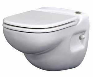 SFA Saniflo USA Sanistar® Elongated Toilet Bowl in White SAN012