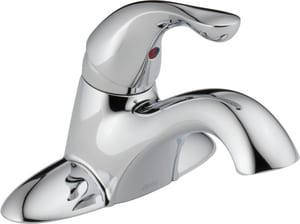 Delta Faucet Classic Series Tract Pack Centerset Lavatory in Polished Chrome (Less Pop-Up Drain) D501TPDST