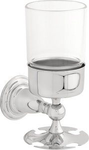 Delta Faucet Victorian® Toothbrush & Tumbler Holder Polished Chrome D75056