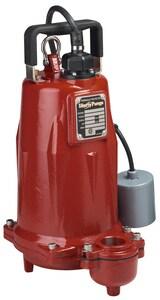 Liberty Pumps FL100 Series 2 in. 1 hp Submersible Effluent Pump LFL104M2 at Pollardwater