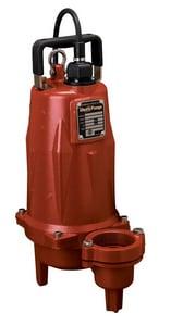 Liberty Pumps LEH200 Series 2 in. 2 hp High Head Submersible Sewage Pump LLEH204M22