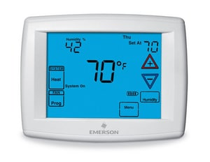 White Rodgers Blue® 4-3/5 in. Universal Thermostat W1F951291BURN