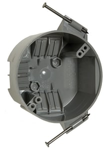 RACO 2-3/8 in. Non-Metallic Round Ceiling Cable Box R7824RAC
