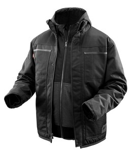 Milwaukee M12™ L Size Heated 3-in-1 Ripstop Jacket Kit in Black M2171