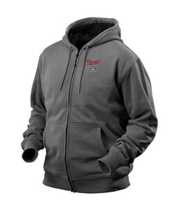 Milwaukee M12™ M Size Heated Hoodie Only in Grey M2368