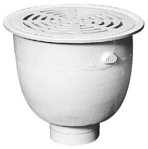 Zurn 12 x 12 x 10-5/8 in. Floor Mount Cast Iron Floor Sink ZZ19503NH