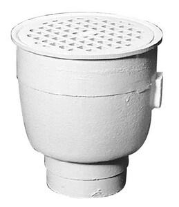 Zurn 8 x 8 x 8-1/2 in. Floor Mount Cast Iron Floor Sink ZZ19603NH