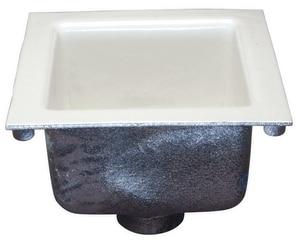 Zurn 12 X 12 X 8 5 8 In Floor Mount Cast Iron Floor Sink