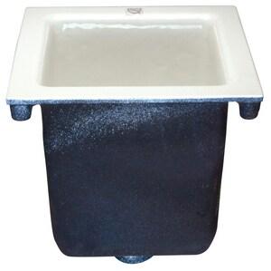 Zurn 12 x 12 x 12-5/8 in. Floor Mount Cast Iron Floor Sink ZZ19024NH