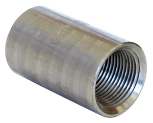 1/8 in. Threaded Extra Heavy Steel Tapered Black Malleable Coupling BXSCTTA