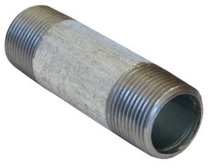 1-1/4 x 6-1/2 in. MNPT Standard Galvanized Carbon Steel Nipple GNHV