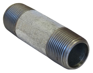 1-1/2 x 4 in. NPS Extra Heavy Galvanized Steel Nipple GXNJP