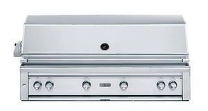 Lynx 54 in. 100000 BTU 4-Burner Natural Gas Built-In Grill in Stainless Steel LL54PSR2