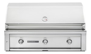 Lynx Sedona Series 3-Burner Built-In Grill in Stainless Steel LL700PSNG