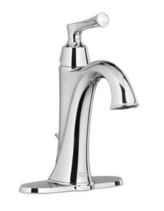 American Standard Estate® Single Handle Monoblock Bathroom Sink Faucet in Polished Chrome A7722101002