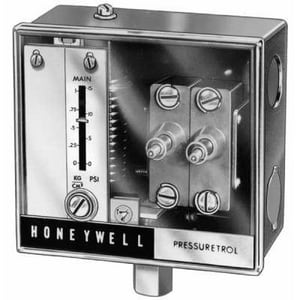 Honeywell Pressuretrol® 120/240V 5 in. HVAC Fan Control HL4079B1033