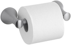 KOHLER Coralais® Wall Mount Toilet Tissue Holder in Brushed Chrome K13434-G