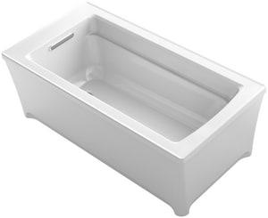 Kohler Archer® 61-3/4 x 31-3/4 in. Freestanding Bathtub in White K2592