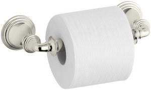KOHLER Devonshire® Wall Mount Toilet Tissue Holder in Vibrant Polished Nickel K10554-SN
