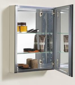 Kohler 26 in. Surface Mount and Recessed Mount Medicine Cabinet in Oil Rubbed Bronze K2967-BR1