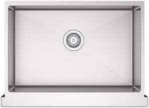 Kohler Strive® 1-Bowl Stainless Steel Apron Front Undermount Kitchen Sink with Rear Drain K5417-NA