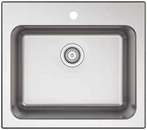 Kohler Ballad™ 25 x 22 in. Top Mount Laundry Sink in Stainless Steel K5798-1-NA