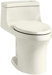 Kohler San Souci® 1.28 gpf Elongated One Piece Toilet in Biscuit K4000-96
