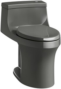 Kohler San Souci® 1.28 gpf Elongated One Piece Toilet in Thunder Grey K4000-58