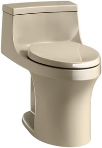Kohler San Souci® 1.28 gpf Elongated Toilet in Mexican Sand K4000-33