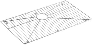 Kohler Vault™ Strive® 15 19/20 x 29 1/4 in. Bottom Basin Rack Stainless Steel K6644-ST