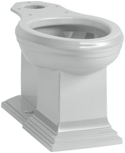 Kohler Memoirs® Elongated Toilet Bowl in Ice Grey K5626-95