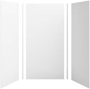 Kohler Choreograph® 96 x 36 in. Serica 3-Wall Alcove Shower Wall Kit in White K97614