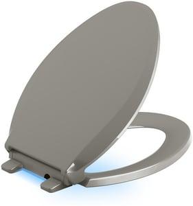 KOHLER Cachet® Elongated Closed Front Toilet Seat in Cashmere K75796-K4