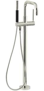 KOHLER Purist® Single Handle Lever Floor Mount Filler in Vibrant® Polished Nickel KT97328-4-SN