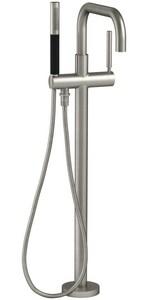 KOHLER Purist® Single Handle Lever Floor Mount Filler in Vibrant® Brushed Nickel KT97328-4-BN