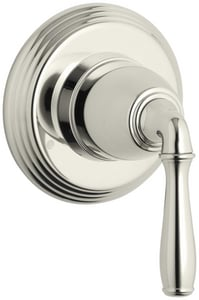 Kohler Devonshire® Transfer Valve Trim with Single Lever Handle in Vibrant Polished Nickel KT376-4-SN