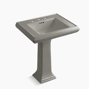 Kohler Memoirs Classic Pedestal Bathroom Sink In Cashmere 2258 8 K4 Ferguson