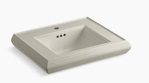Kohler Memoirs® 1-Hole Pedestal Bathroom Sink in Sandbar K2239-1-G9