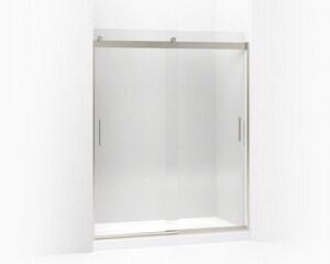 Kohler Levity® 74 x 59-5/8 in. Frameless Sliding Shower Door in Brushed Nickel K706012-L-NX