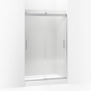 Kohler Levity® 74 x 47-5/8 in. Frameless Sliding Shower Door in Bright Polished Silver K706010-L-SHP