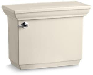 Kohler Memoirs® Stately 1.28 gpf Toilet Tank in Almond with Left-Hand Trip Lever K4434-U-47