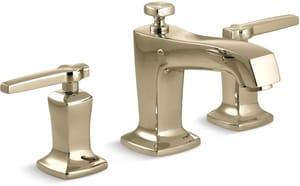 Kohler Margaux® Two Handle Widespread Bathroom Sink Faucet in Vibrant French Gold K16232-4-AF