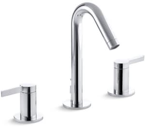 Kohler Stillness® Two Handle Widespread Bathroom Sink Faucet in Polished Chrome K942-4