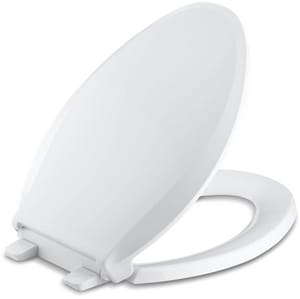 Kohler Cachet® Plastic Elongated Closed Front With Cover Toilet Seat K4636