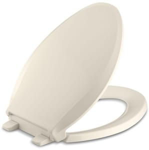 KOHLER Cachet® Elongated Closed Front Toilet Seat in Almond K7315-47