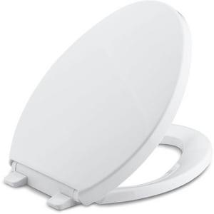 Kohler Saile® Quiet-Close™ Elongated Closed Front in White K4748