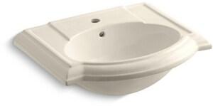 Kohler Devonshire® Pedestal Vessel in Almond K2287-1-47