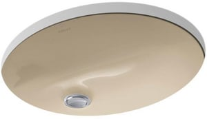 Kohler Caxton® Undermount Bathroom Sink in Mexican Sand K2209-33